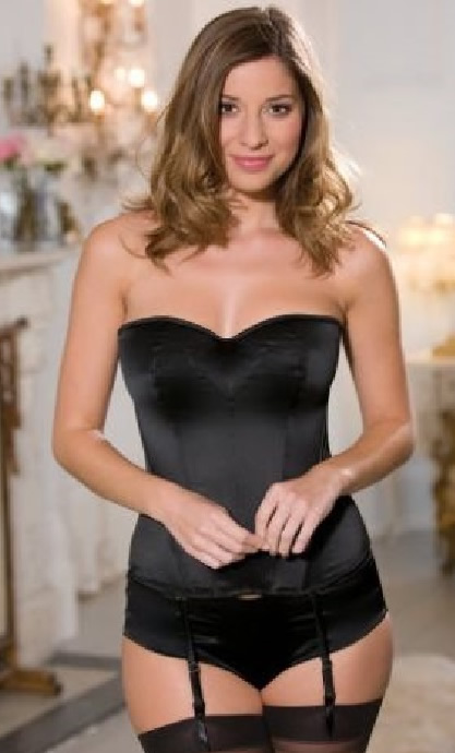 Panache Tiffany Basque Black