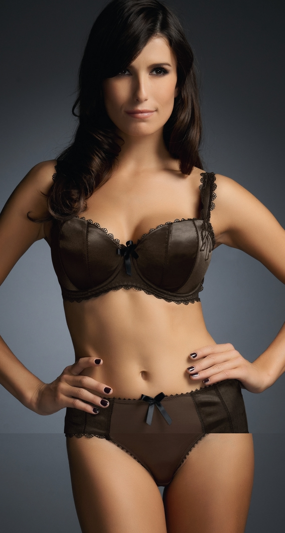 Fauve Lucia Half Cup Padded Bra Sienna