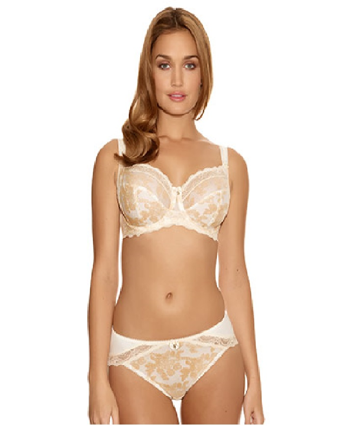 Fantasie-Mae-Side-Support-Bra-Briefs Set Champagne