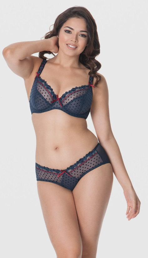 Curvy Kate Bra Short Set Blueberry