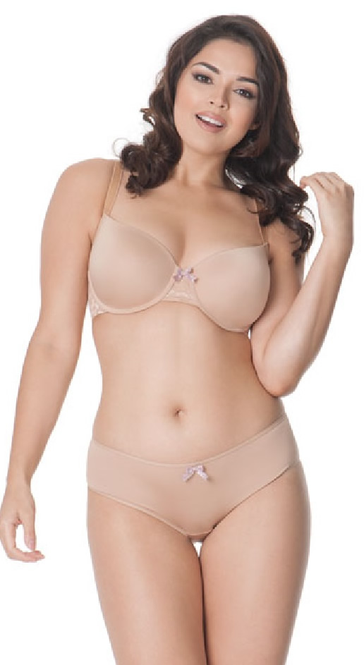 Curvy Kate Smoothie Spirit Balcony Bra Short Set Nude