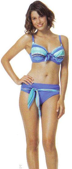 fantasie havana full cup bikini bra and briefs set