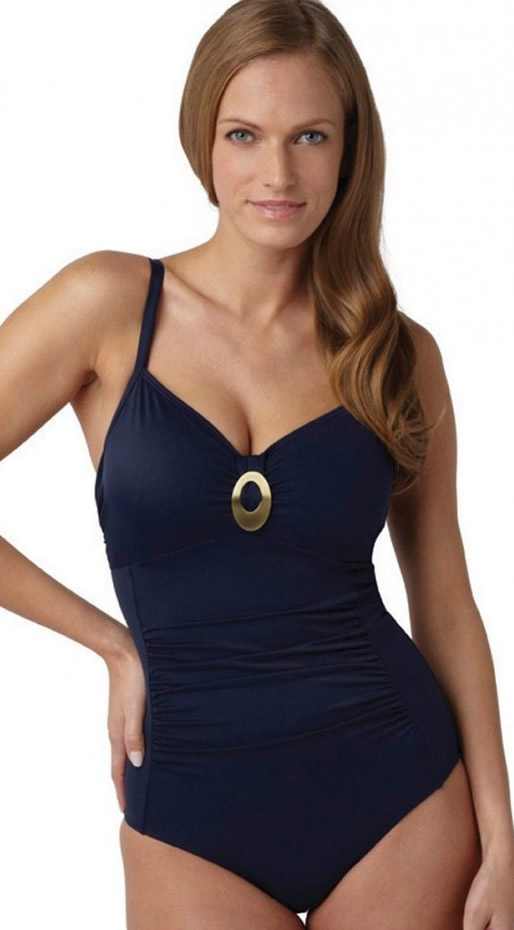 Panache Paloma Swimsuit Navy